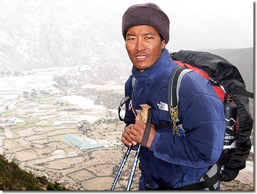 Adventure Nepal - guides, leaders and sherpas - trekking and mountaineering