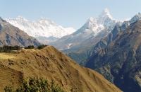 Ama-Dablam dominates the Everest Trek