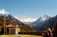 Everywhere spectacular mountain scenery