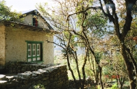 House at the bottom of Lukla hill