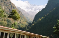 A tea house in the Everest area