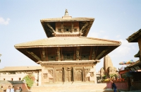 A temple in the Kathmandu valley